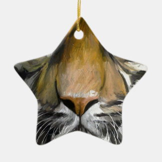 Eye of the Tiger.jpg Christmas Ornament