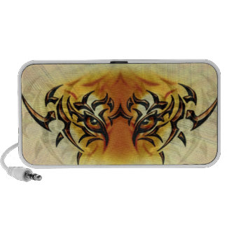 Eye of the Tiger Travel Speakers