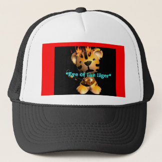 *Eye of the tiger* Trucker Hat