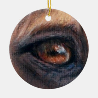 Eye of Tres Christmas Ornament