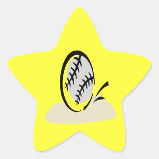 Eye On The Ball Star Sticker