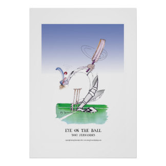 eye on the ball, tony fernandes poster