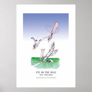 eye on the ball, tony fernandes poster