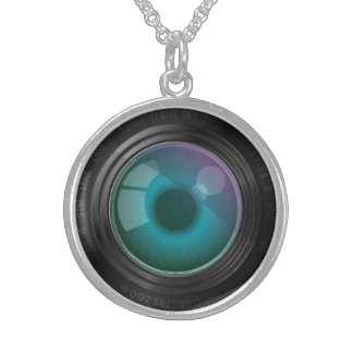 Eye on the Camera Lens Necklace