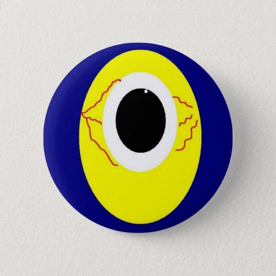 Eye on you 6 cm round badge