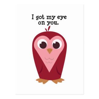 Eye on You Postcard