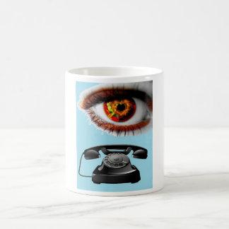 Eye Phone Artwork Cool and Eye-catching Mugs