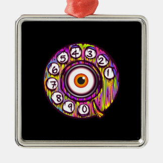 Eye Phone Christmas Ornament