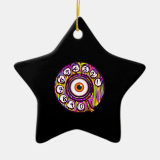 Eye Phone Christmas Ornament