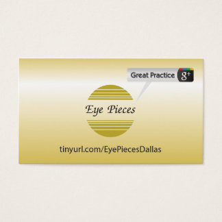 Eye Pieces Dalls Business Card