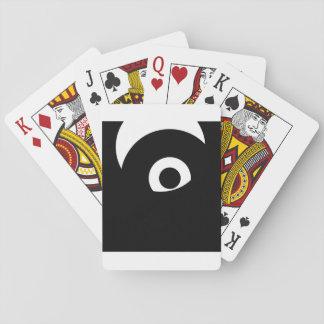 eye playing cards