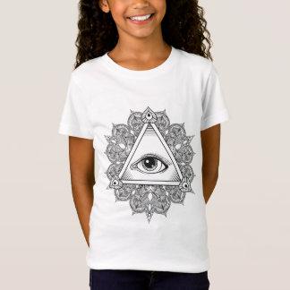 Eye Pyramid Symbol Doodle T-Shirt