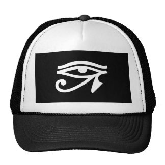 Eye Ra Horus Black Trucker Hat