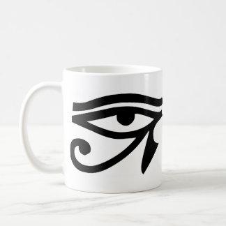 Eye Ra Horus Basic White Mug