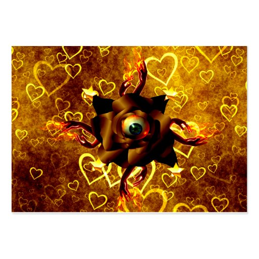 Eye Rose Business Card Template