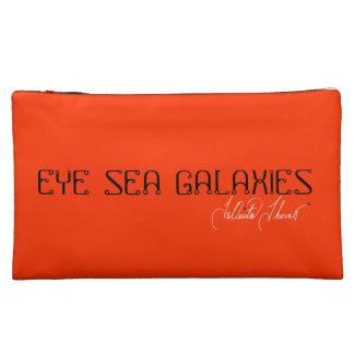 Eye Sea Galaxies Cosmetic Bag