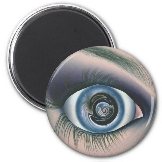 Eye See You 6 Cm Round Magnet