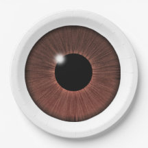 EYE SEE YOU 9 INCH PAPER PLATE