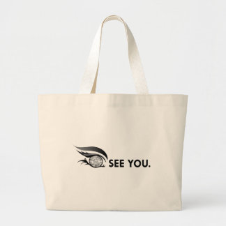 "EYE SEE YOU ""APRIL DIAMOND"" LARGE TOTE BAG"