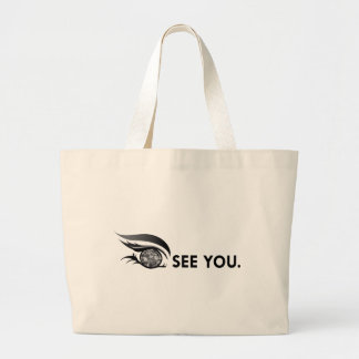 "EYE SEE YOU ""BLACK DIAMOND"" LARGE TOTE BAG"