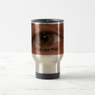 Eye See You Coffee Mug Humour Odd