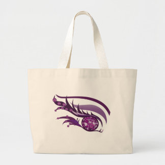 "EYE SEE YOU ""FEBRUARY PURPLE AMETHYST"" LARGE TOTE BAG"