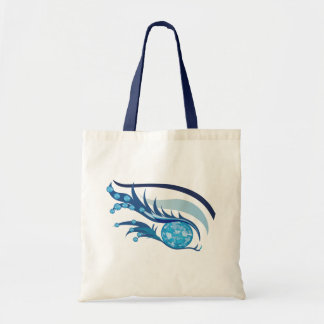 "EYE SEE YOU ""MARCH AQUAMARINE"" TOTE BAG"