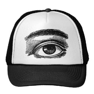 Eye Sees All - Vintage Illustration Cap