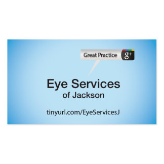 Eye Services of Jackson Business Cards