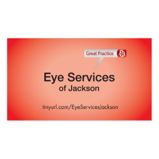 Eye Services of Jackson Business Card