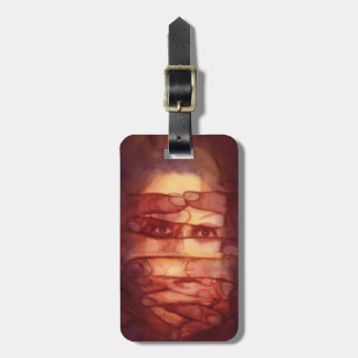 Eye Shadow Luggage Tag