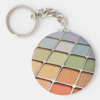 Eye Shadow Makeup Keychain