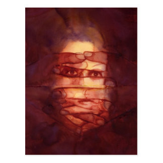 Eye Shadow Postcard