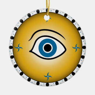 eye shield christmas ornament
