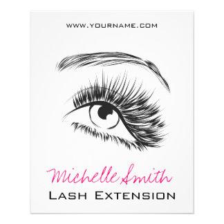 Eye Sketch Mascara Lash Extension 11.5 Cm X 14 Cm Flyer