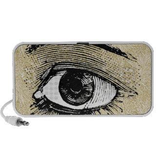 Eye Notebook Speaker