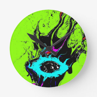 Eye Spy 2 Round Clock