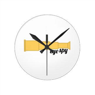 Eye Spy Round Clock