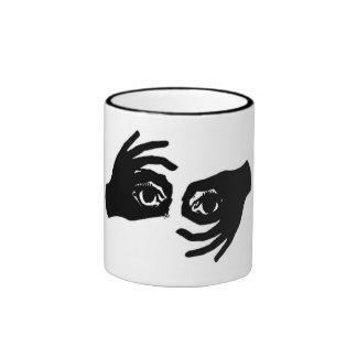 Eye Spy Ringer Mug