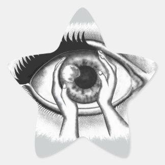 eye star sticker