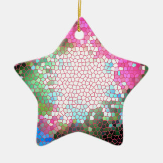 Eye Test Ceramic Star Decoration