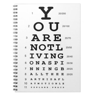 Eye Test Notebook