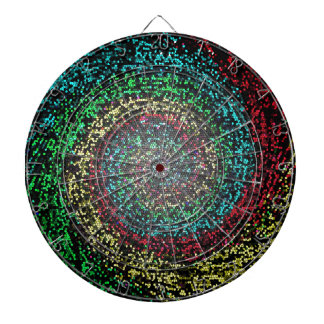 Eye test spiral dartboard