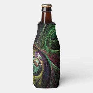 Eye to Eye Abstract Art Bottle Cooler