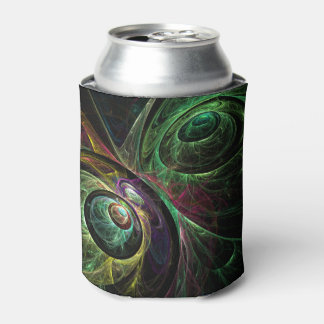 Eye to Eye Abstract Art Can Cooler