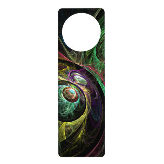 Eye to Eye Abstract Art Door Hanger