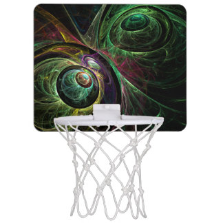 Eye to Eye Abstract Art Mini Basketball Hoop