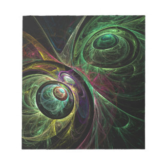 Eye to Eye Abstract Art Notepad