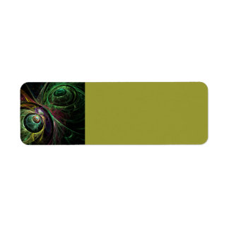 Eye to Eye Abstract Art Return Address Label