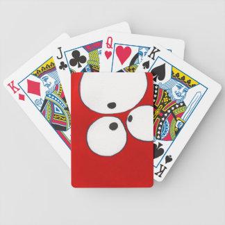 Eye to Eye to Eye, Red,  Playing Cards